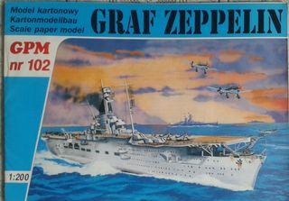Maqueta de cartón GPM Graf Zeppelin 1/200