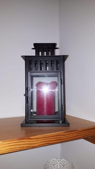 candelabro nuevo ikea. color negro.