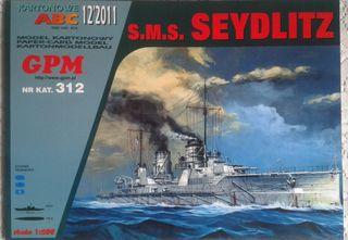Maqueta de cartón SMS SEYDLITZ, 1:200, GPM