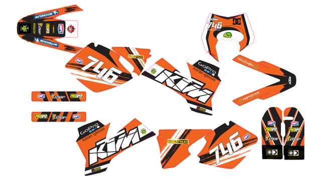 KTM 2001-03 SX, MX Y KTM 2002-03 EXC