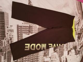malla negra y amarilla talla S