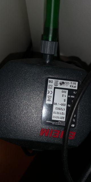 filtro externo eheim 2211 150 de acuario pecera