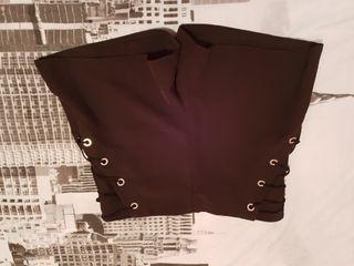 pantalón corto negro talla M