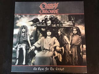 OZZY OSBORNE LP VINILO , NO REST FOR THE WICKED