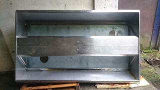 Campana extractora industrial acero inoxidable
