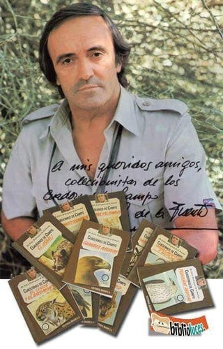 Colección de cuadernos de campo de Félix Rodríguez