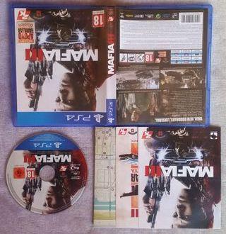 MAFIA 3 III PS4 PLAY4 COMO NUEVO