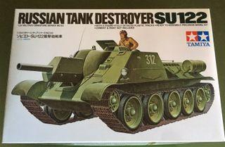 Maqueta TAMIYA 1/35 - RUSSIAN TANK DESTROYER SU122