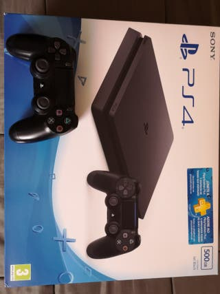 Play Station Slim 4 PS4