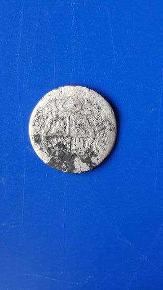 moneda antigua de Plata. españa Felipe V. 1721