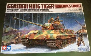 Maqueta TAMIYA 1/35 - KING TIGER ARDENES FRONT -