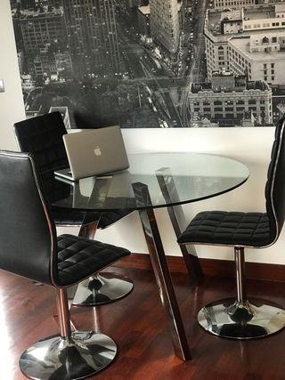 Mesa y sillas diseño