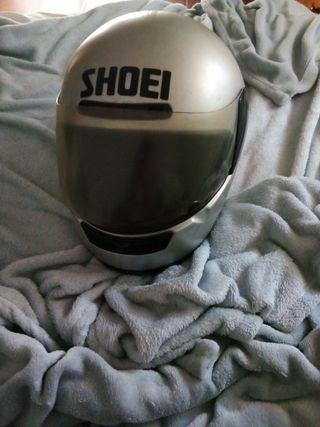casco de moto marca shoei talla M