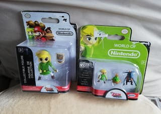 2 Packs Zelda World of Nintendo. NUEVOS