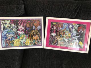 Cuadros Monster High.