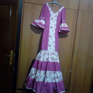 vestido de flamenca canastero