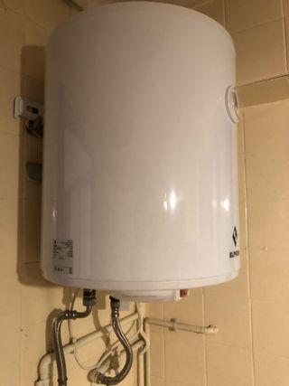 Calentador de agua con gas natural