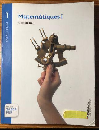 Matemàtiques 1 batxillerat