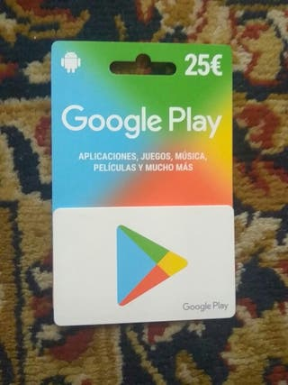 Tarjeta Google Play varata