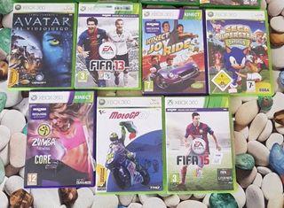 7 juegos de XBOX 360