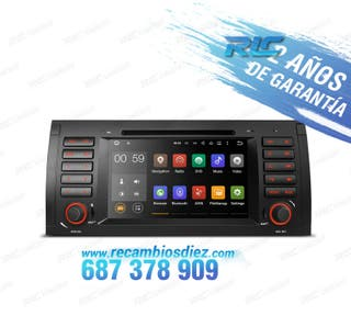 "RADIO ANDROID 7"" BMW X5 E53 USB GPS HD"