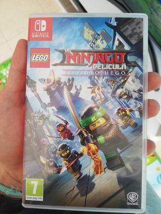 Lego la ninjago pelicula para Nintendo Switch