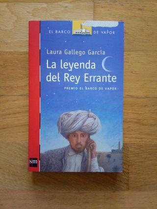 Libro La leyenda del Rey Errante
