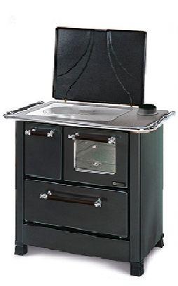 Cocina de leña Romántica 5 kW económica