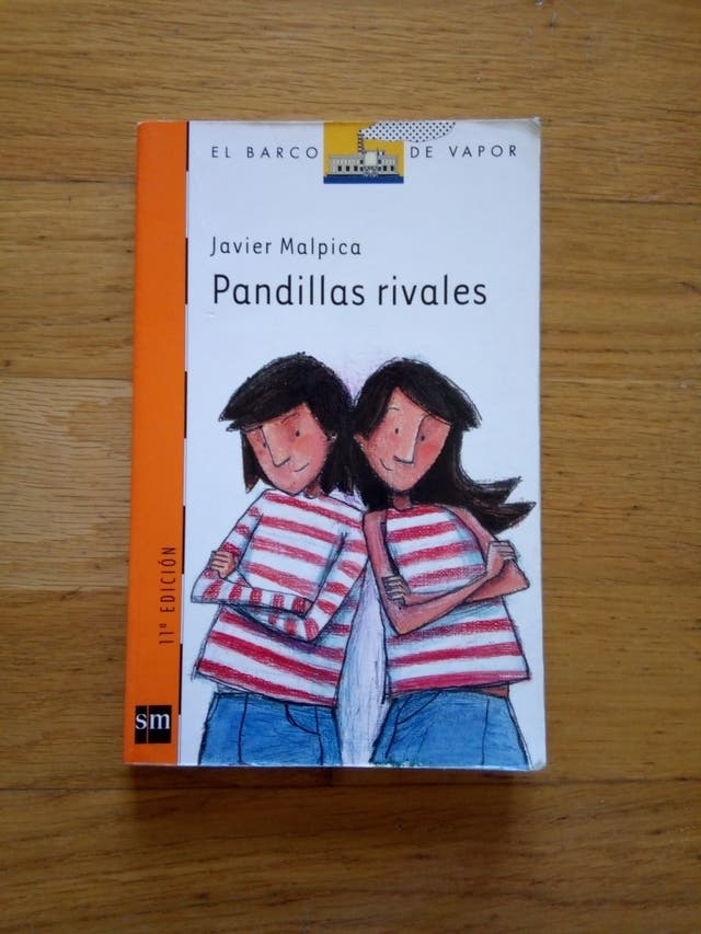 Libro Pandillas Rivales