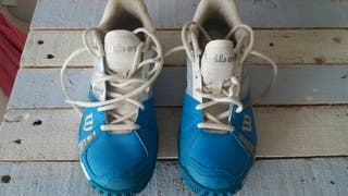 Zapatos padel y pala