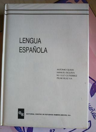 Libro lengua española acceso UNED