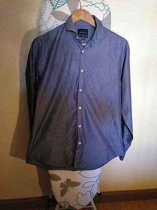 camisa Springfield azul buen estado talla M 38