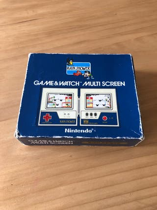 Nintendo Game Watch Rain Shower
