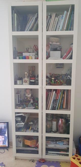 Librería Estanteria Vitrina Billy Ikea