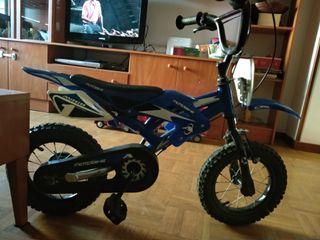 bicicleta imitación motocross