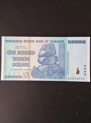100 trillones de dólares. SC