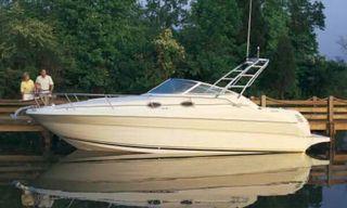 barco sea Ray sundance 2001 cruiser