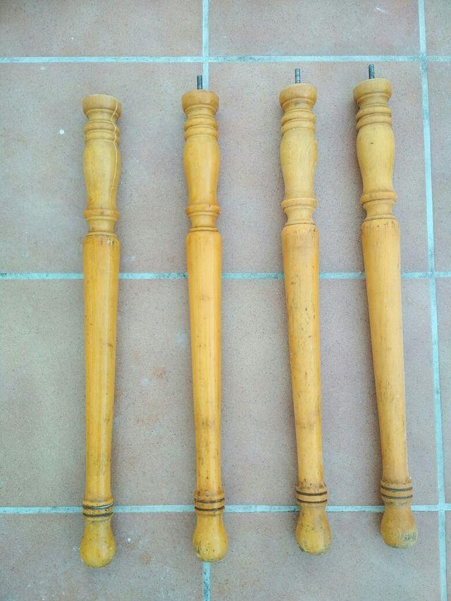 Patas de madera