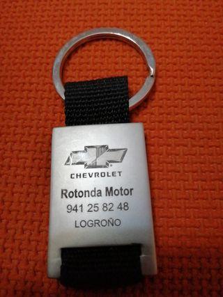 llavero marca Chevrolet