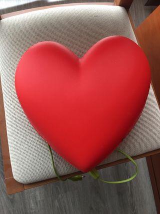 2 Lámparas de corazón y flor por 10€