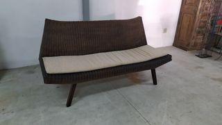 SofA cama barato sofa de mimbre ikea