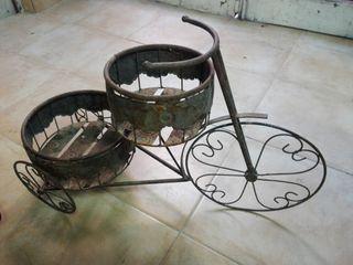 bicicletas de decoración para macetas