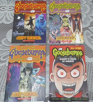 Cómics Pesadillas Goosebumps (Colección Completa)