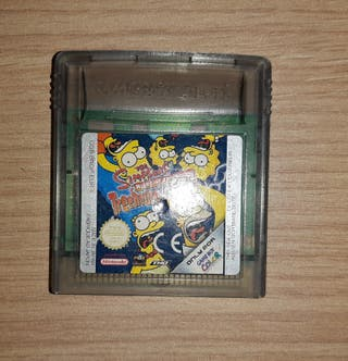 The simpsons, Game Boy Color