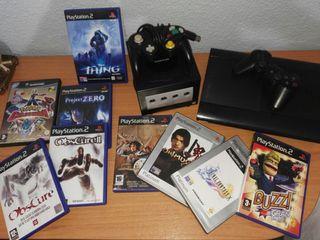 Consolas y Videojuegos de PS2, PS3 y GameCube