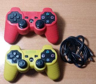 MANDOS NUEVOS PS3 PLAY3 PC CABLES FUNDA