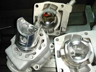 honda CRM NSR 125 cilindros reparación