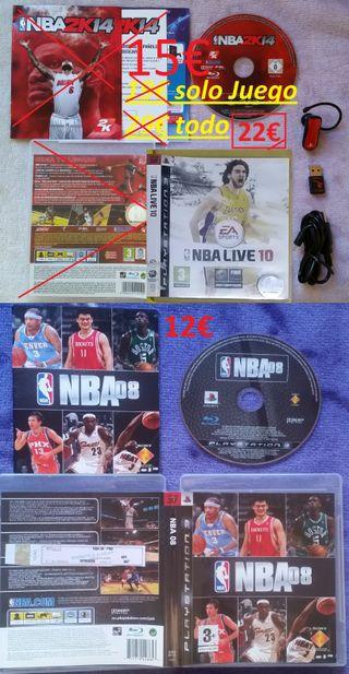 COLECCIÓN NBA 08 LIVE 2010 PS3 AURICULAR
