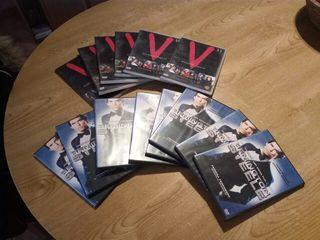 """DVDs series """"V"""" & Remington steele"""