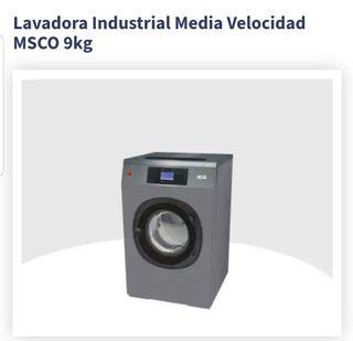 LAVADORA INDUSTRIAL MEDIA VELOCIDAD MSCO 9 Kg
